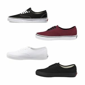 New-Vans-Authentic-Skate-Shoes-Classic-Men-Sneakers-All-Sizes-Colors