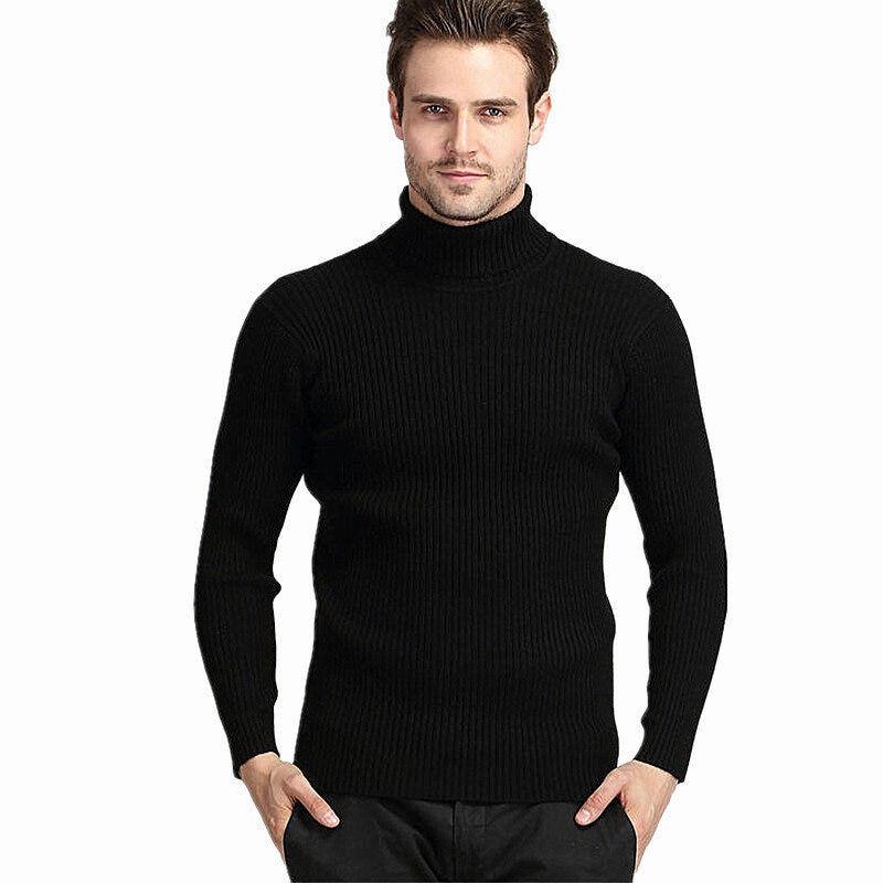 Camisa para hombre del suéter Slim Fit de manga larga men suéteres Casual