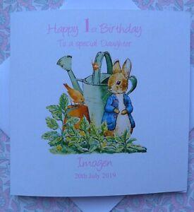 Handmade Personalised Donkey Birthday Card