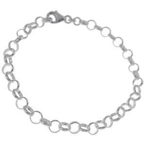 Bracelet en Argent 925 - Neuf - Longueur 19 cm - Femme