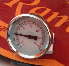 TERMOMETRO IN ACCIAIO CON MISURAZIONE DA 0 ° -120 °