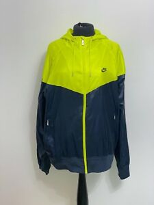 5d6686daf3fa Image is loading Nike-Windrunner-Windbreaker-Windcheater-Yellow -Blue-Tech-Nylon-