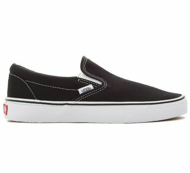 vans classic slip on loafers