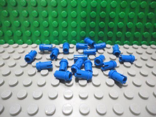 Lego 20 Blue technic 1//2 pin
