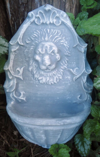 "Poly plastic lion bird feeder water dish mold 10/"" x 6.5/"" x 3//4/"" t hick"
