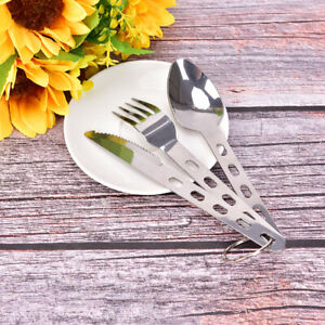 3pcs-set-Spoon-Fork-Knife-Set-Camping-Tableware-Travel-Cookware-Gear-Equipm-BCD