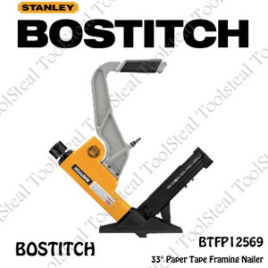 Bostitch BTFP12569 15.5 - 16G 2-IN-1 Pneumatic Flooring Nailer w Full Warranty