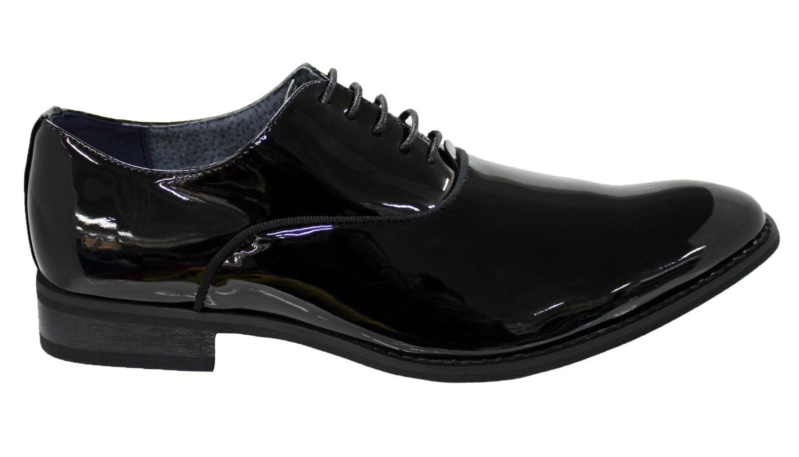 Schuhe Herren Diamant Class Elegant Schwarz Glänzend MAN'S