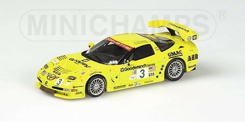 Corvette c5-r 12h sebring 2002 gewinner der gts - klasse jungs 1 43 modell maßnahmen