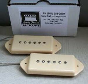Details about New Lindy Fralin Hum-Cancelling Dogear P90 Pickup Set of 2  Cream Made in USA