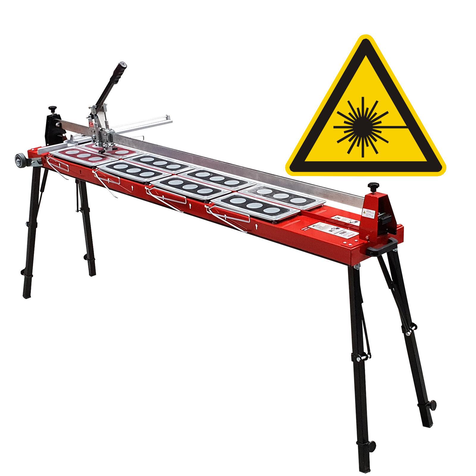 Fliesenschneider GigaCut 1600 mm mit Laser, Beine klappbar und höhenverstellbar | Schön  | Zuverlässige Leistung  | Hat einen langen Ruf