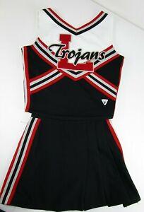 Trojans-Haut-Ecole-Pom-Girl-Uniforme-Costume-Choisissez-Sz-71-1-86-4cm-24-26