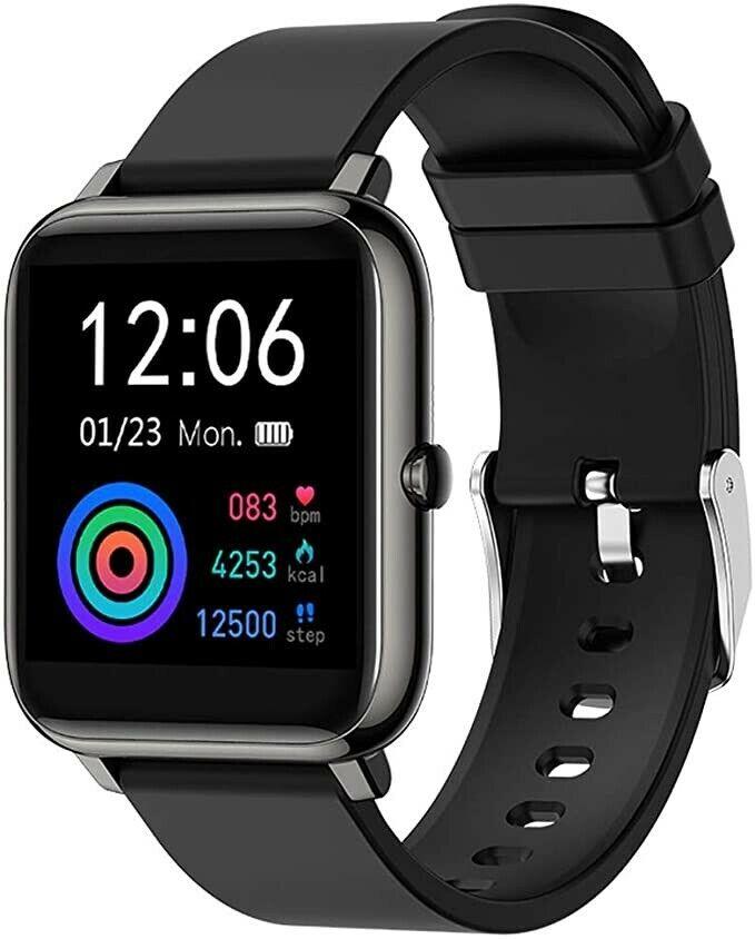 EIGIIS Smart Watch Fitness Tracker Heart Rate Blood Pressure Blood Oxygen Monito blood eigiis fitness heart oxygen pressure rate smart tracker watch