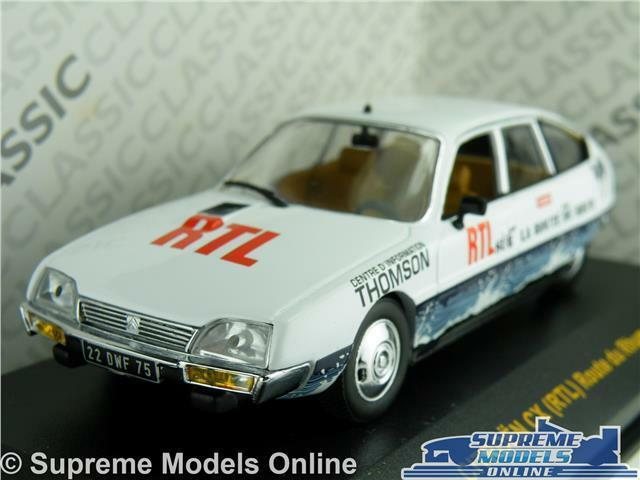 CITROEN CX (RTL) MODEL CAR ROUTE DU RHUM 1 43 SCALE IXO CLC124 WHITE K8