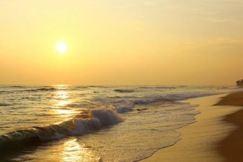 658V -NON WOVEN-Dune-Wave Sun Sand Wallpaper Panorama Be Photo Wall Mural-BEACH-