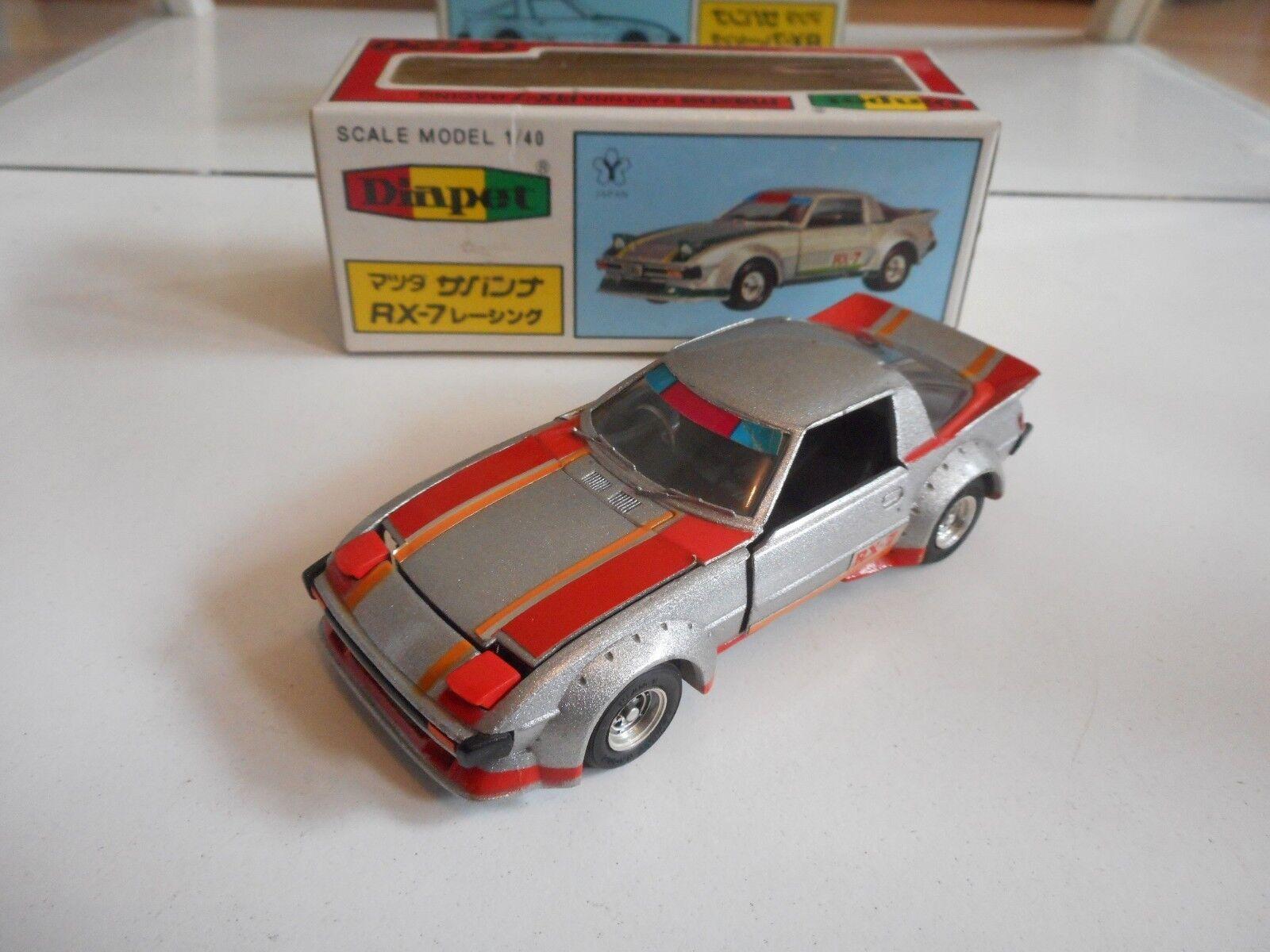 Yonezawa Yonezawa Yonezawa Toys Diapet Mazda Savanna RX-7 in Grey on 1 40 in Box 7f6c5c