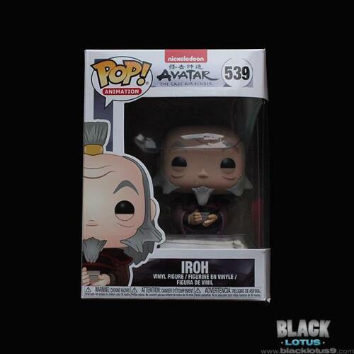 Iroh Avatar The Last Airbender Nickelodeon Pop IN STOCK 539 Funko Pop