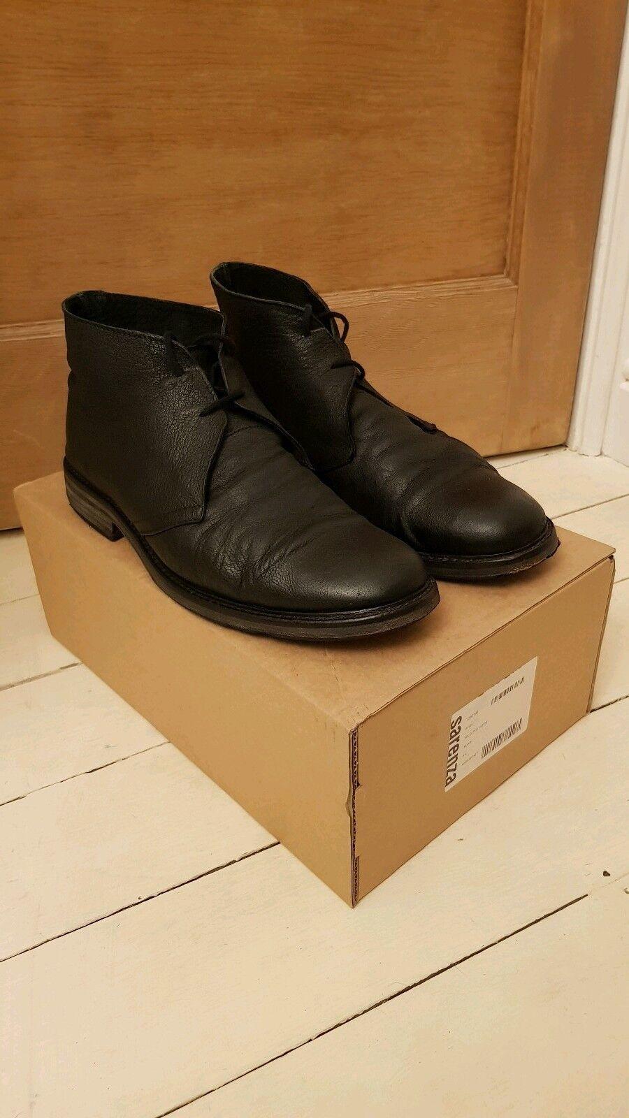 Selected Homme Ryan Lacets Bottes Chaussure Noir UK 10