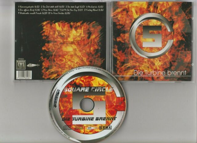 Square Circle Die Turbine brennt  [CD]