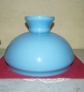 Abat-jour-opaline-verre-lustre-lampe-petrole-lampe-electrique-316-mm-N-357