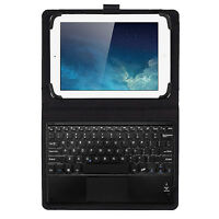 JETech® Wireless Bluetooth Keyboard with Leather Smart Case For 7-10 Inch Tablet