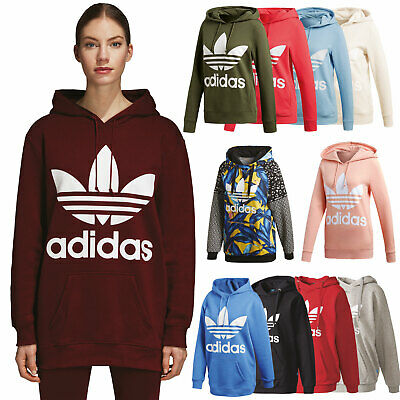online for sale the latest shades of adidas Originals Damen-Hoodie Hoody Kapuzenpullover Trefoil Pullover | eBay
