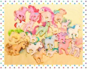 ❤️My Little Pony MLP G1 Vtg Custom Bait TLC Lot 20 Ponies Cranberry Muffins❤️