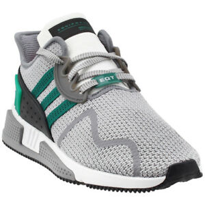 watch 721e3 5bcf1 Image is loading adidas-EQT-Cushion-Adv-Running-Shoes-Grey-Mens