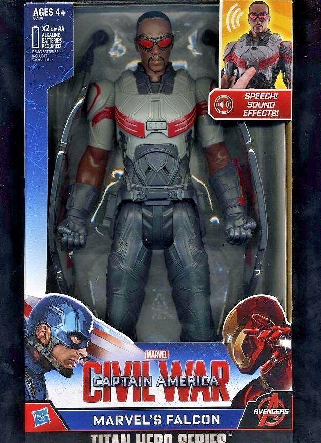 Elektronische falcon (((roten) 2015 captain america  bürgerkrieg action - figur