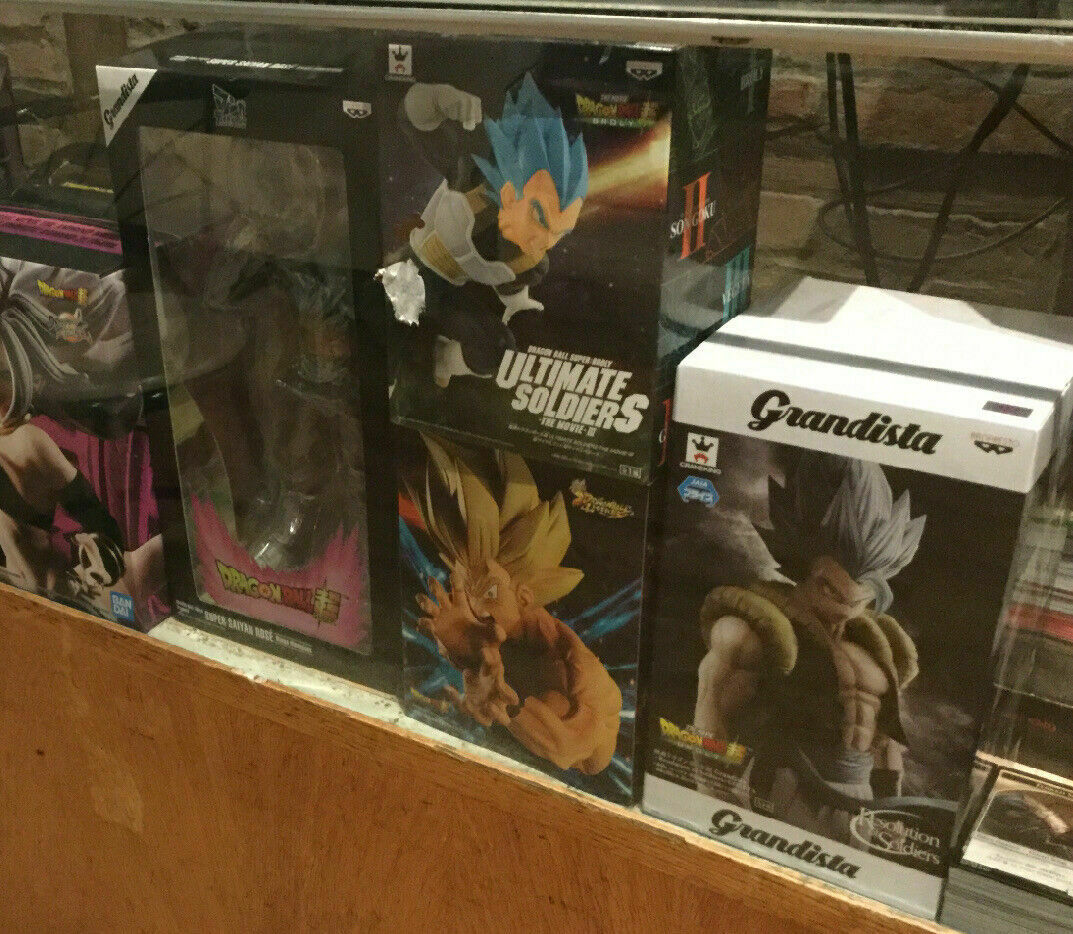 Dragon Ball Z, FighterZ, Super Collectible Statues
