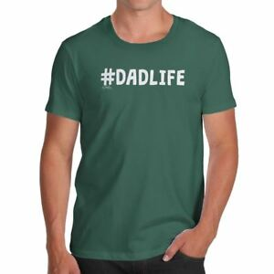 e71212a19 Image is loading Funny-T-Shirts-For-Men-Dadlife-Men-039-