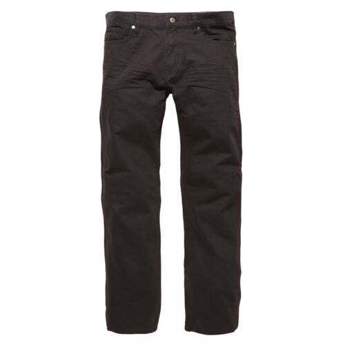 VINTAGE Industries-Redstone COLOURED JEANS NERO 5 Pocket