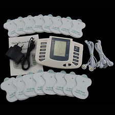 Electrical Stimulator Full Body Relax Massager Pulse Acupuncture Therapy Hot