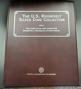 PCS-US-Roosevelt-Silver-Dime-Collection-19-Coin-Stamp-Full-Date-Set-1946-1964