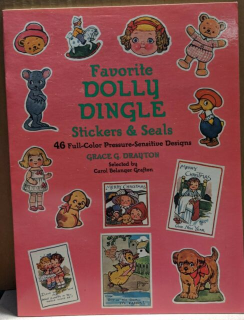 Favorite Dolly Dingle Stickers and Seals Drayton, Grace Paperback Excellent