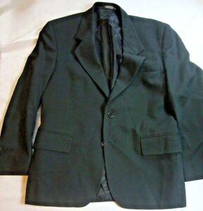 NEW-John-Weitz-Signature-Collection-Mens-Regular-Size-L-Large-Black-Suit-Blazer