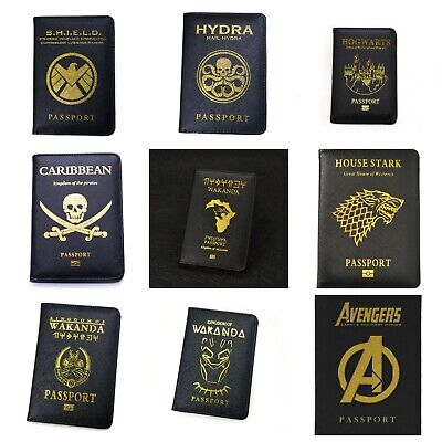 Dominica Passport Cover Holder Protector Wallet Case for Travel Holiday Luggage UK European Universal Size Mens Womens