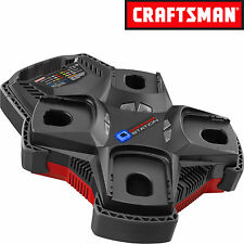 Craftsman C3 19.2-Volt 4-Port Multi Chemistry Charger 17311 Free Shipping New