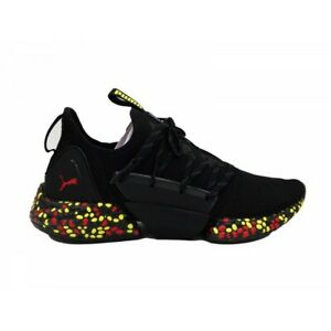 design intemporel bb8a9 ea606 Détails sur Chaussures Puma Homme Hybid Rocket Runner Black Blazing Jaune  Red Noir 191592 10