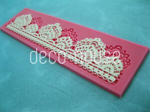Shell-Lace-Mermaid-Cake-Fondant-Mat-Silicone-Icing-Sugarcraft-Mould-Wedding