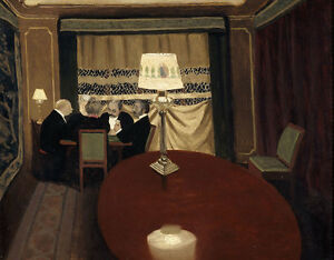 Details zu The Poker Game Felix Vallotton Pokern Männer Tisch Salon  Kartenspiel B A3 01747