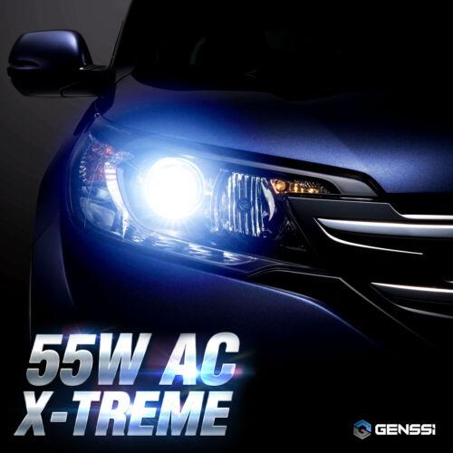 AC 55W HID Kit H4 9003 Bi-Xenon 6000K Bright OEM White Beam Conversion Light