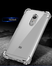 Soft Silicon Natural Clear TPU Protector Case Cover For Xiaomi Redmi Note 4