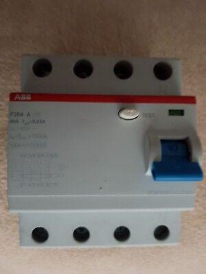 Abb Fi F204 40a 0,03 Schutzschalter 4-polig Neu Produkte HeißEr Verkauf