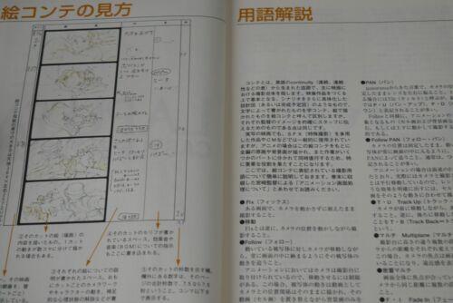 "Castle in the Sky/"" Book JAPAN Studio Ghibli Storyboard Zenshuu /""Laputa"