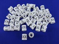Xxxl Hanger Garment Size Marker Tag 3x-large Sizer 50 Pieces Retail Store