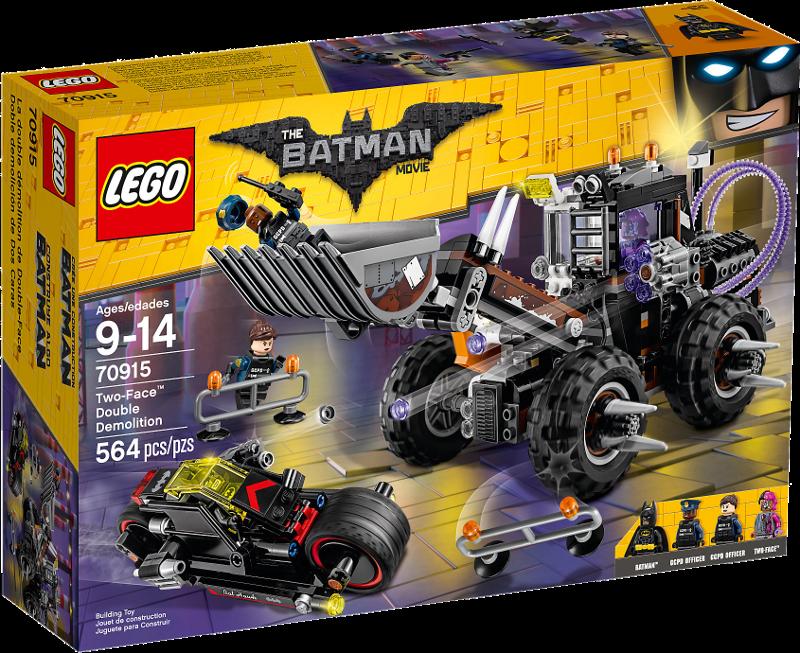 LEGO Batman Movie 70915 Doppeltes Unheil durch Two Neu OVP