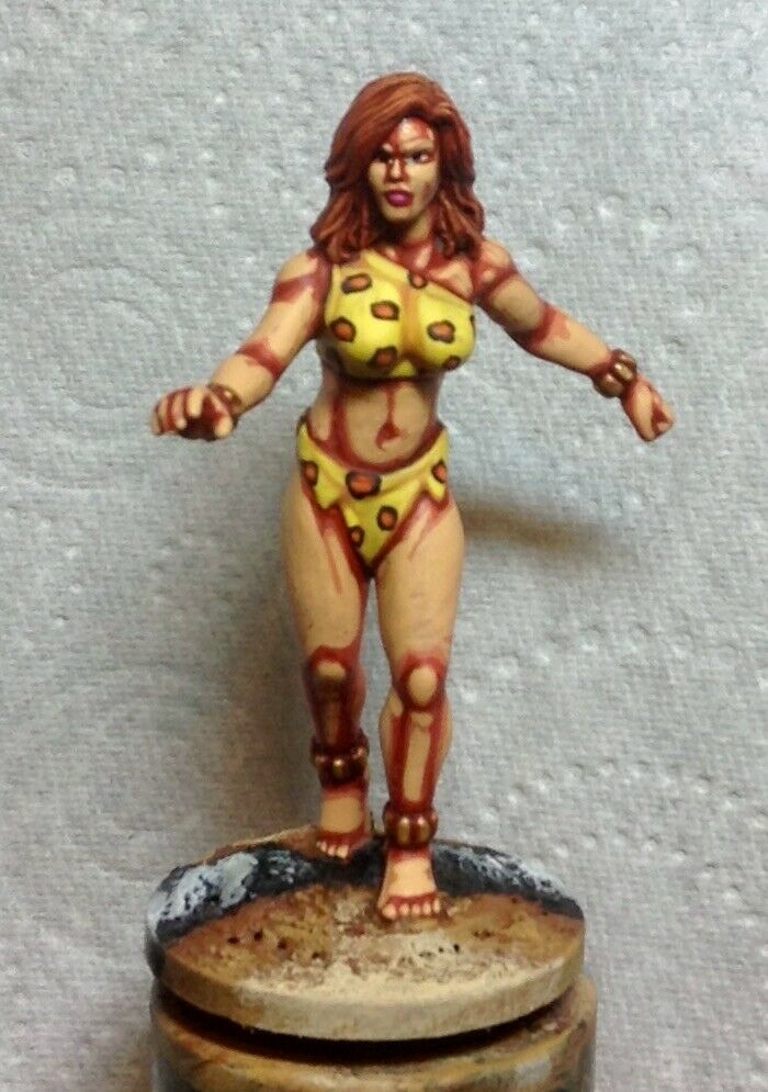 25mm 28mm well painted DC comics Colossal Giganta champions super hero villain