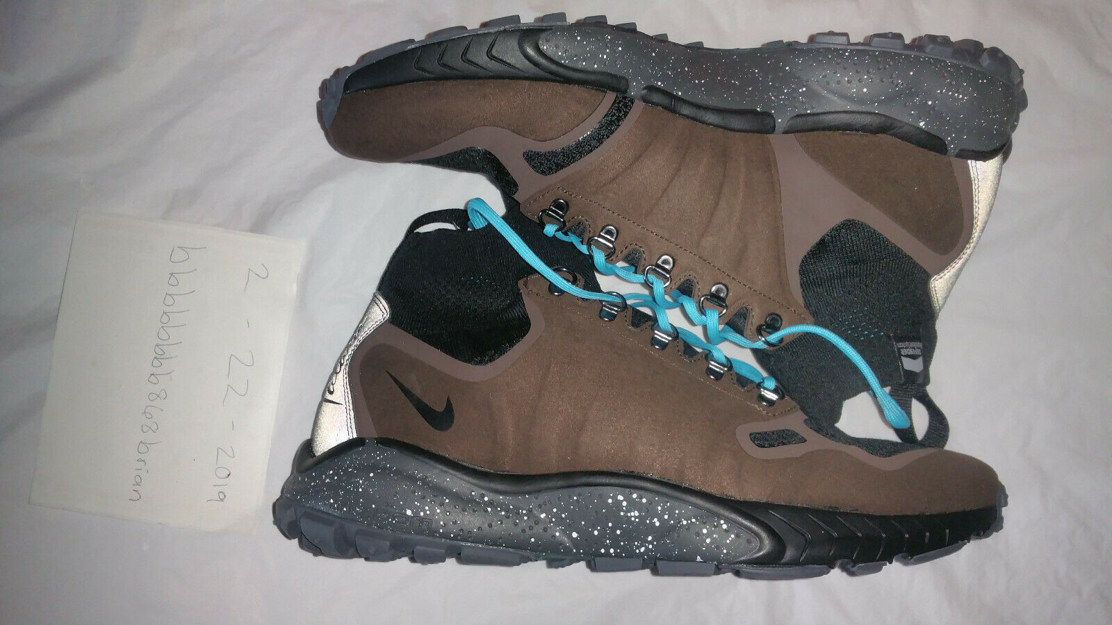 Talaria Zoom Nike 9.5 Talla Mid Nuevas Holi Hu (856957 200