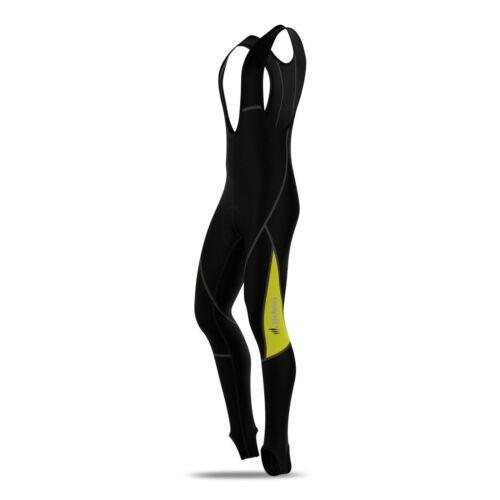 Hommes Collant à Bretelles de Cyclisme Thermal Rembourré Froides Vêtements